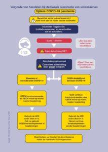 Nieuwe richtlijn reanimatie tijdens COVID-19 pandemie